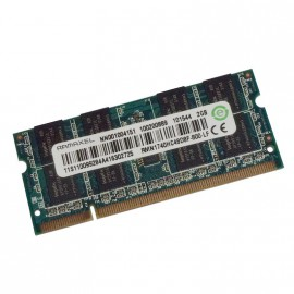 2Go RAM PC Portable SODIMM Ramaxel RMN1740HC48D8F DDR2 PC2-6400 800MHz CL6