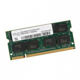 2Go RAM PC Portable SODIMM AENEON AET860SD00-30D DDR2 PC2-5300S 667MHz 2Rx8 CL5