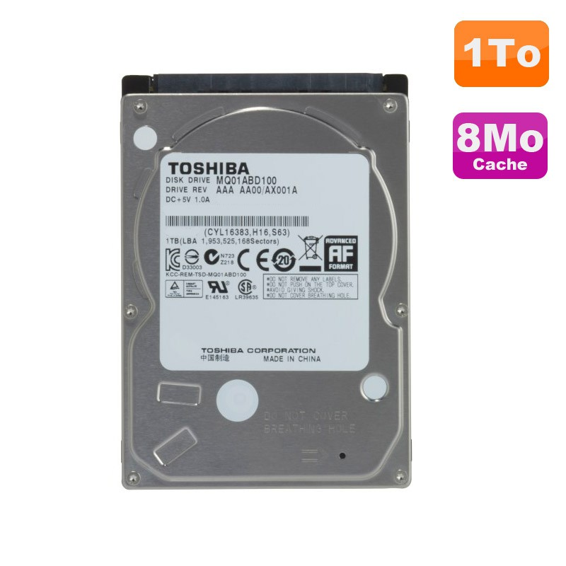 disque dur 1to sata 2 5 toshiba mq01abd100 pc portable 5400rpm 8mo monsieurcyberman. Black Bedroom Furniture Sets. Home Design Ideas