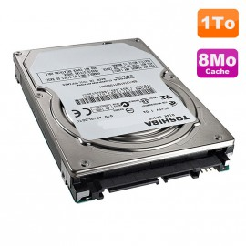 "Disque Dur 1To SATA 2.5"" Toshiba MK1059GSMP Pc Portable 5400RPM 8Mo 11mm"