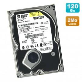 "Disque Dur 120Go IDE ATA 3.5"" Western Digital WD1200BB WD Caviar 7200RPM 2Mo"