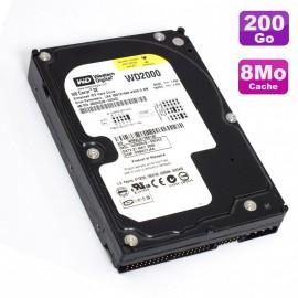 "Disque Dur 200Go IDE ATA 3.5"" Western Digital WD2000JB Caviar SE 7200RPM 8Mo"