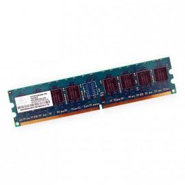 1Go RAM NANYA NT1GT64U8HA0BY-37B 240-Pin DIMM DDR2 PC2-4200U 533Mhz 2Rx8 CL4