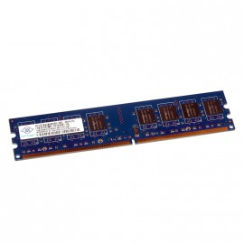 1Go RAM NANYA NT1GT64U8HB0BY-25D 240-Pin DIMM DDR2 PC2-6400U 800Mhz 2Rx8 CL6