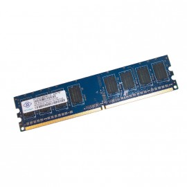 1Go RAM NANYA NT1GT64U88D0BY-3C 240-Pin DIMM DDR2 PC2-5300U 667Mhz 2Rx8 CL5