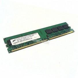 1Go RAM MICRON MT16HTF12864AY-667B3 240-Pin DIMM DDR2 PC2-5300U 667Mhz 2Rx8 CL5