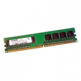 1Go RAM ELPIDA EBE10UE8ACWA-6E-E 240-Pin DIMM DDR2 PC2-5300U 667Mhz 1Rx8