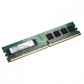 1Go RAM ELPIDA EBE11UD8AJWA-6E-E 240-Pin DIMM DDR2 PC2-5300U 667Mhz 2Rx8 CL5