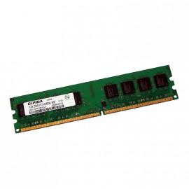 1Go RAM ELPIDA EBE11UD8AJWA-8G-E 240-Pin DIMM DDR2 PC2-6400U 800Mhz 2Rx8 CL6
