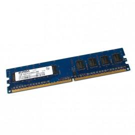 1Go RAM ELPIDA EBE10UE8AFFA-8G-F 240-Pin DIMM DDR2 PC2-6400U 800Mhz 1Rx8 CL6