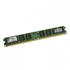 1Go RAM KINGSTON D12864F50 240-Pin DIMM DDR2 PC2-5300U 667Mhz 1Rx8 CL5 low prof.