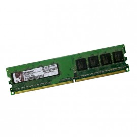 1Go RAM KINGSTON KWK007-ELC 240-Pin DIMM DDR2 PC2-5300U 667Mhz 1Rx8 CL5