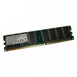 1Go RAM PNY Technologies 64A0TQDXA8G16 184-Pin DIMM DDR PC-3200U 400Mhz 2Rx8 CL3