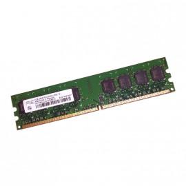 1Go RAM AENEON AET760UD00-30DB97X 240-Pin DIMM DDR2 PC2-5300U 667Mhz 2Rx8