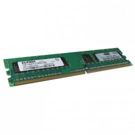 1Go RAM ELPIDA EBE10UE8AEFA-8G-E 240-Pin DIMM DDR2 PC2-6400U 800Mhz 1Rx8 CL6