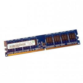 512Mo RAM RAMAXEL RML1520PG38D6F-667 240-Pin DIMM DDR2 PC2-5300U 667Mhz 1Rx8 CL5