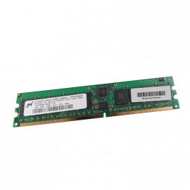 1Go RAM Server Micron MT18VDDF12872Y-40BD3 PC-3200R DDR 400Mhz Reg. ECC CL3