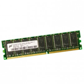 512Mo Ram Serveur MICRON MT18VDDT6472AG-262G4 184-PIN DDR PC-2100E 266Mhz 2Rx8