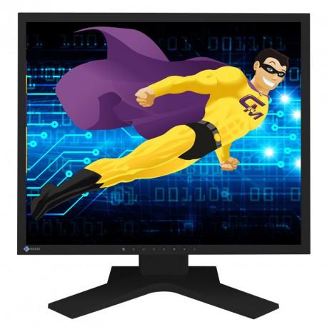 "Ecran Plat PC 19"" EIZO S1902 LCD 1280x1024 5:4 FlexScan VGA DVI-D"