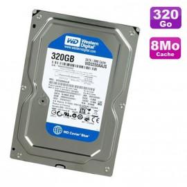 """Disque Dur 320Go SATA 3.5"""" Western Digital Caviar Blue WD3200AAJS-56B4A0 7200 8Mo"""