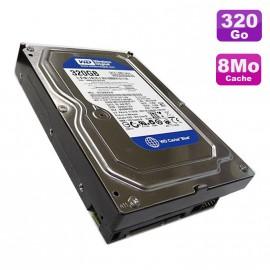 """Disque Dur 320Go SATA 3.5"""" Western Digital Caviar Blue WD3200AAJS-56M0A0 7200 8Mo"""