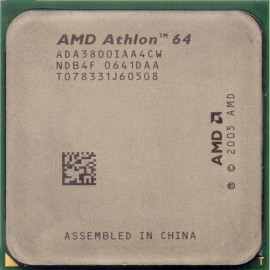 Processeur CPU AMD Athlon 64 3800+ 2.4GHz 512Ko ADA3800IAA4CW Orleans Socket AM2