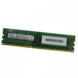 4Go RAM Memoire SAMSUNG M378B5273CH0-CH9 DDR3 DIMM 240-PIN PC10600U 1333MHz CL9