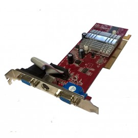 Carte Graphique ATI Radeon VE-7000 DDR SDRAM 64Mo AGP 2xVGA S-Video