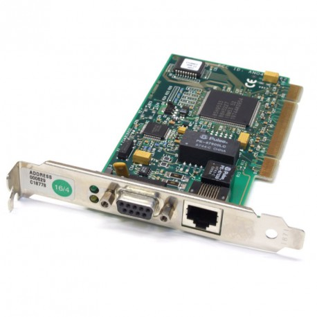 Carte Réseau IBM PCI Token-Ring 01L1968 41H8874 1xDB-9 1x Port Ethernet PCI
