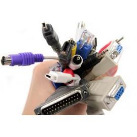 Câble PC et adaptateur