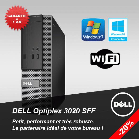 PC Dell Optiplex 3020 SFF -20 % !