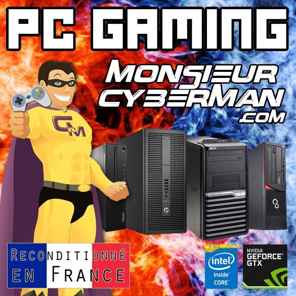 Découvrez notre catalogue de PC pour jouer à vos jeux vidéos préférés !
